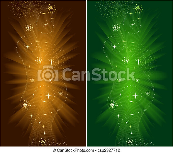 Festive Christmas and New Years Eve Backgrounds - csp2327712