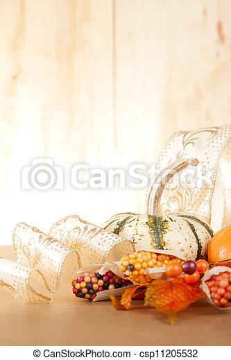 Festive Fall Arrangement - csp11205532