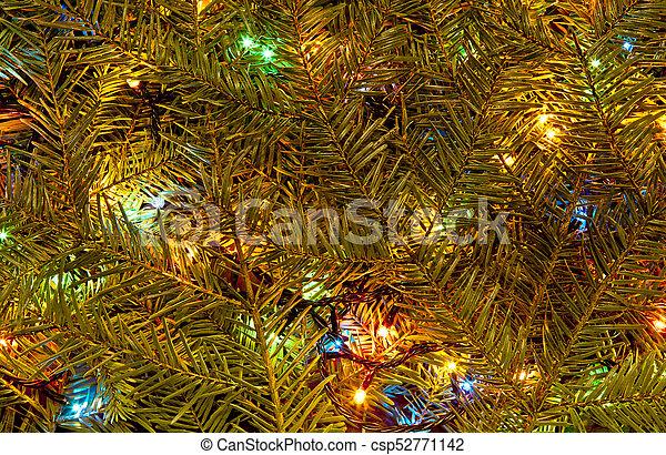 Festive Holiday Background Of Christmas Lights Festive Holiday Background Of Christmas Lights