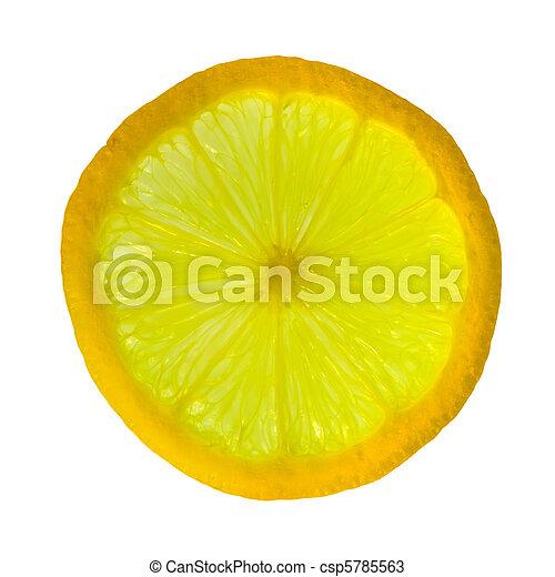 fetta, limone - csp5785563