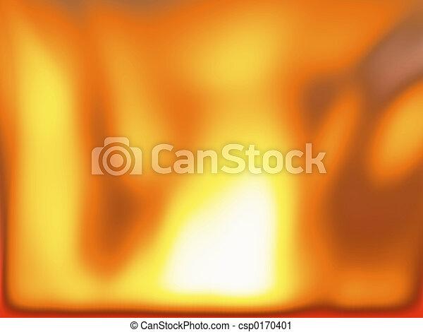 feuer, –, hitze, hölle - csp0170401