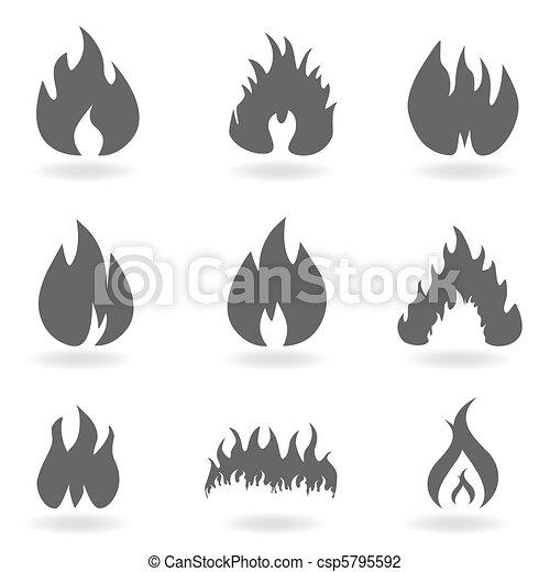 Feuer und Flamme - csp5795592