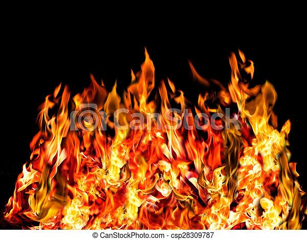 Feuer, heiß, schwarz. Feuer, heiß, bunte Bilder - Fotografien und ...