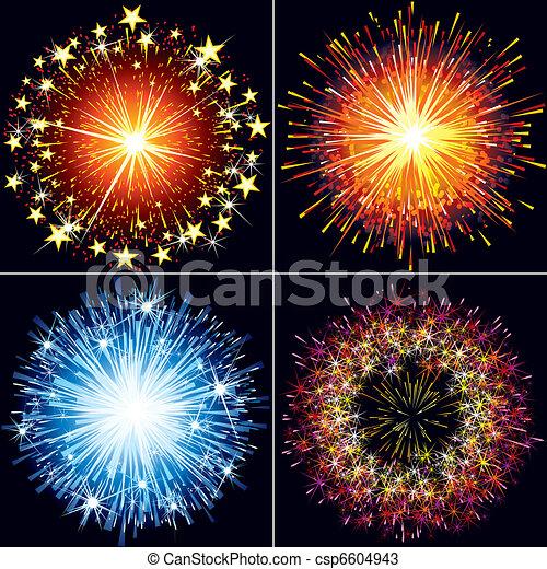 Feuerwerk - csp6604943