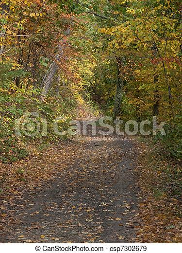 feuillage, automne - csp7302679