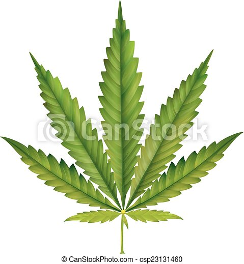 Feuille cannabis dessin anim cannabis vecteur feuille dessin anim illustration - Feuille cannabis dessin ...