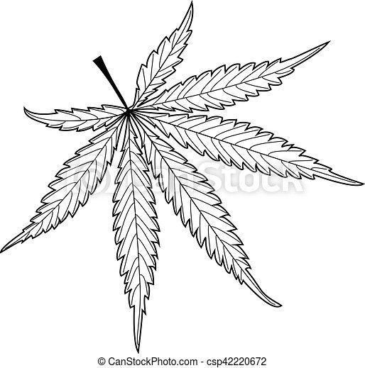 Feuille cannabis feuille marijuana cannabis cannabis - Dessin feuille cannabis ...