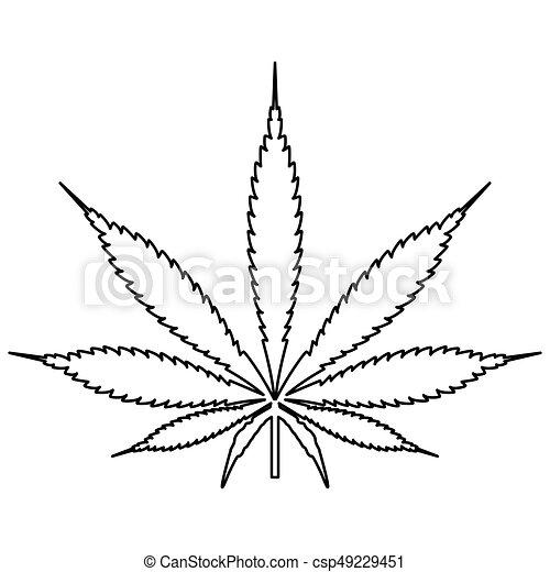 Feuille couleur cannabis noir marijuana sentier ic ne feuille couleur il cannabis - Dessin feuille cannabis ...