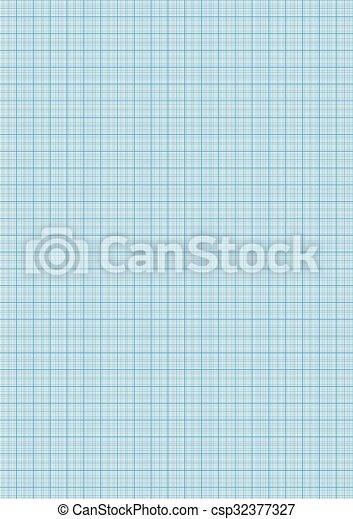 Feuille Couleur Papier Millimétré A4 Cyan Taille