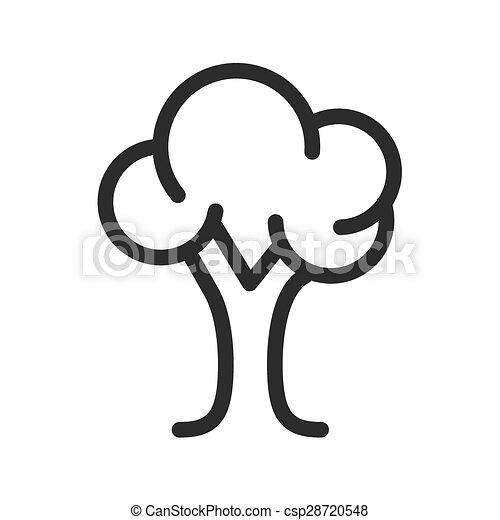 feuilles, arbre - csp28720548