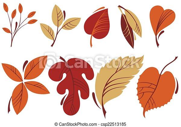 feuilles automne - csp22513185