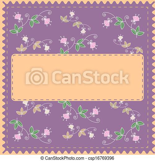feuilles, ornement - csp16769396