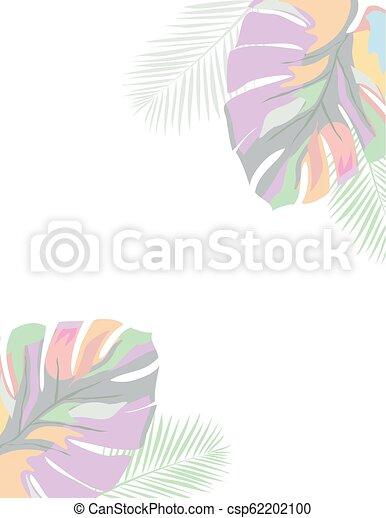 feuilles, paume - csp62202100