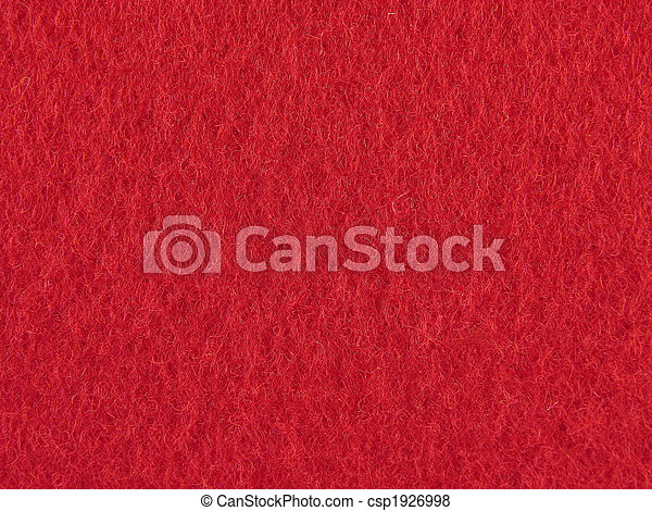 feutre, fond, rouges - csp1926998