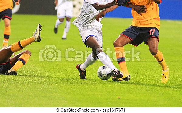 fiammifero soccer - csp1617671
