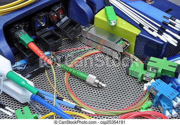 Fiber optical cables - csp25354191