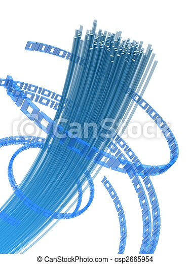 fiber, tråd - csp2665954
