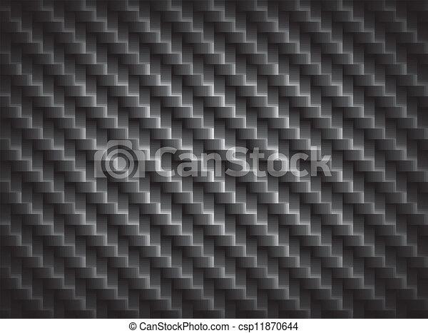 fibra, eps10, fibras, limite, crosswise, fundo, carbono, textura - csp11870644