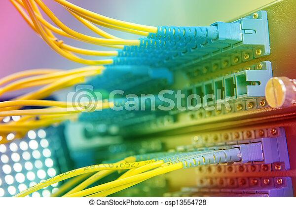 servidor de la red Fiber - csp13554728