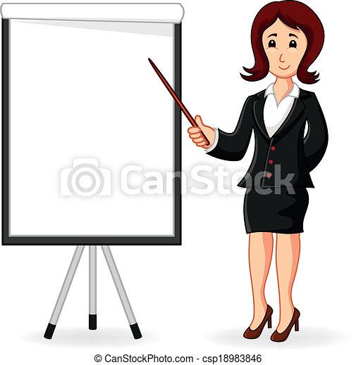 ficar, treinamento, segurando, mulheres - csp18983846