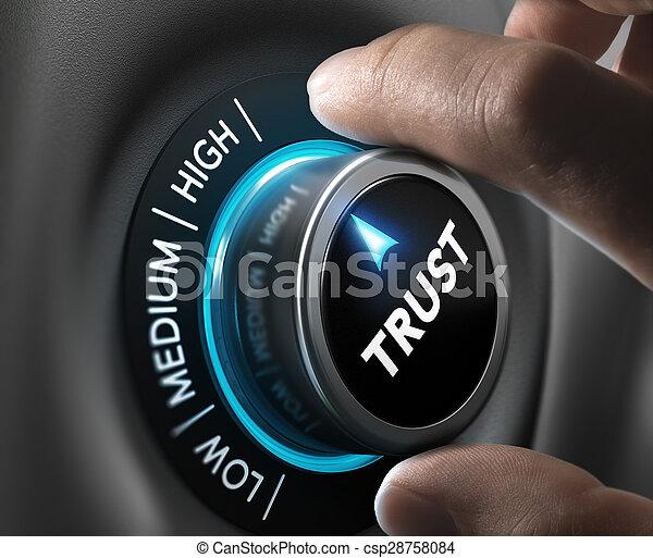 fiducia, concetto - csp28758084