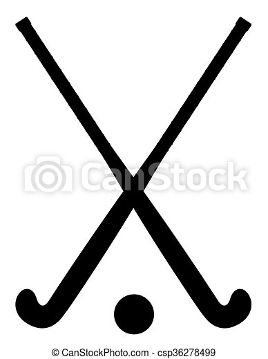 field hockey equipment black outline silhouette vector eps rh canstockphoto com field hockey clip art images field hockey clipart and images