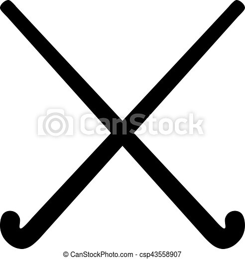 field hockey sticks rh canstockphoto com field hockey clipart black and white field hockey clips