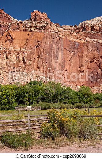 Field in Utah - csp2693069