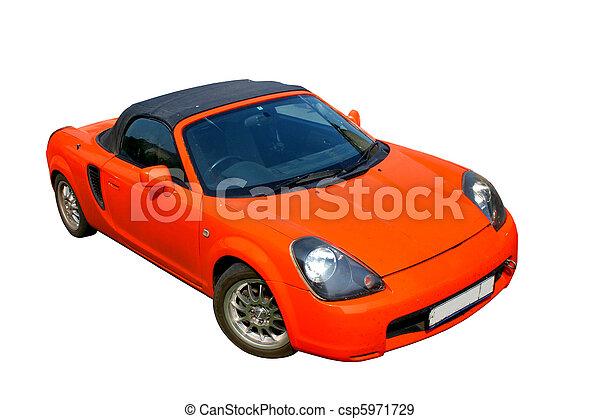 Fiery sportscar - csp5971729