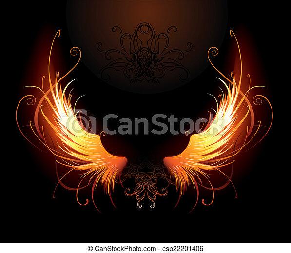 fiery wings - csp22201406