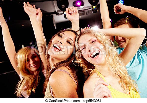 fiesta, bailando - csp6543981