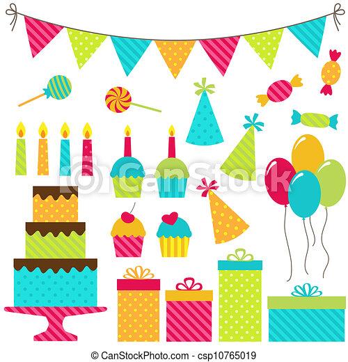Fiesta de cumpleaños - csp10765019