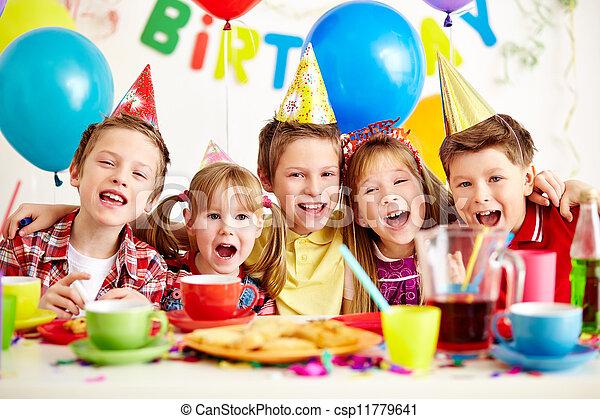 fiesta, cumpleaños - csp11779641