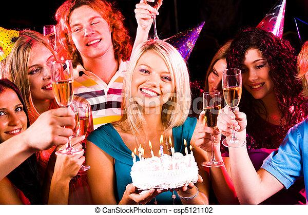 fiesta, cumpleaños - csp5121102