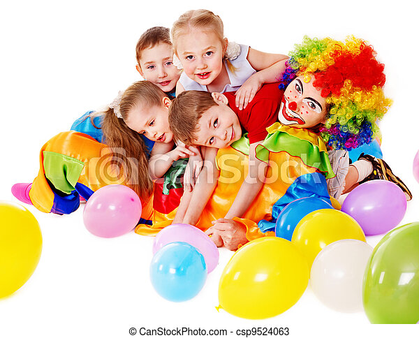 Fiesta de cumpleaños infantil. - csp9524063