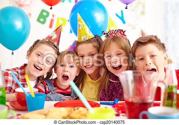 Fiesta de cumpleaños - csp20140075