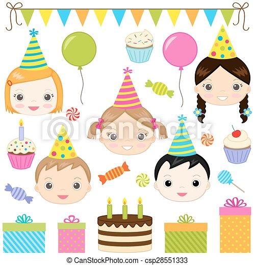 Fiesta de cumpleaños - csp28551333