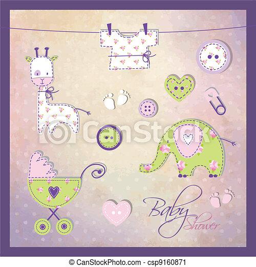 Elementos de ducha de bebé - csp9160871