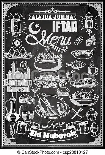 Fiesta Iftar - csp28810127