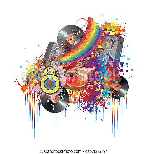 Fiesta de música - csp7886194