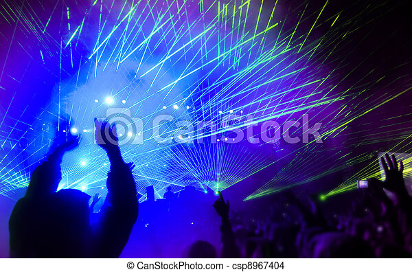 fiesta, música - csp8967404