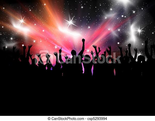 Gente de fiesta - csp5293994