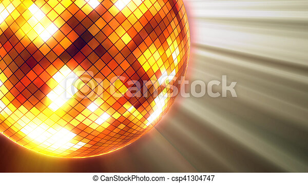 fiesta, pelota, luces, disco