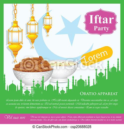 Antecedentes del partido Iftar - csp20688028