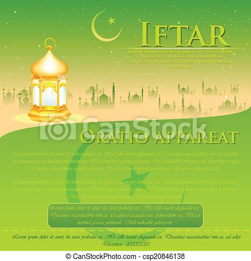 Antecedentes del partido Iftar - csp20846138