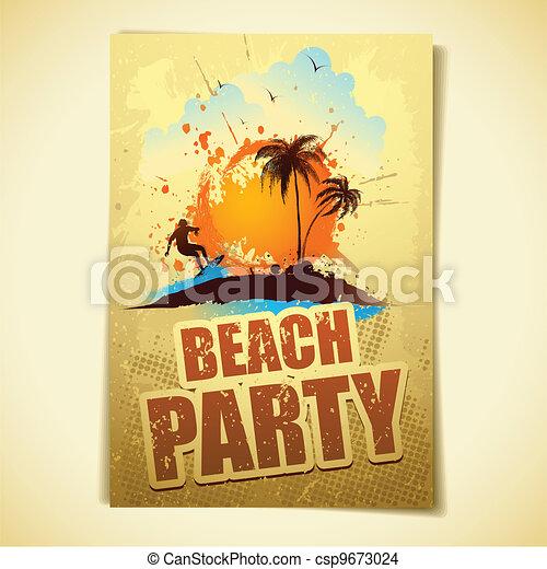 Fiesta de playa - csp9673024