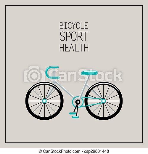 fiets, illustratie - csp29801448