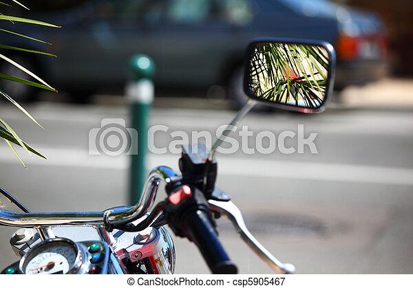 Spiegel Voor Fiets : Chroom universele motorfiets achteruitkijkspiegel kant spiegel