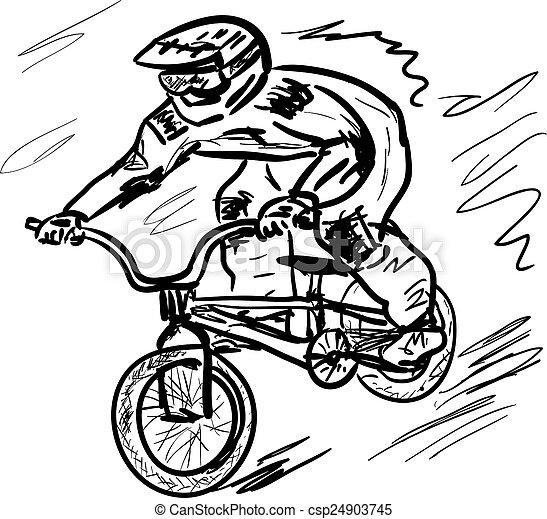 fiets - csp24903745