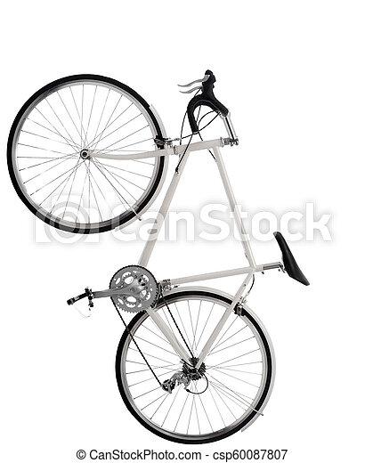 fiets, vrijstaand - csp60087807